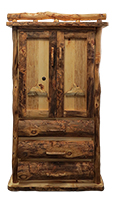 2, 3, or 4 Drawer Teton Armoire