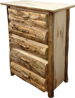 Rustic Arts 4 or 5-Drawer Chest