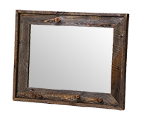 Wyoming Collection Small Wall Mount Mirror